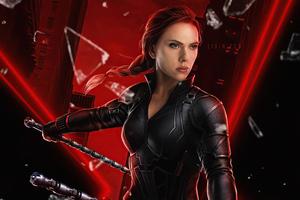 Black Widow Scarlett 5k