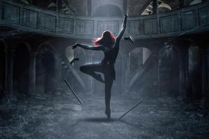 Black Widow The Dance 4k