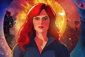 Black Widow What If 4k Wallpaper