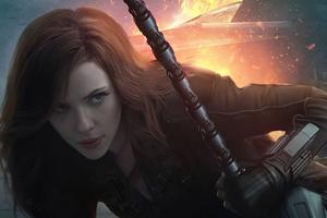 Black Widow What If Tv Series 4k Wallpaper
