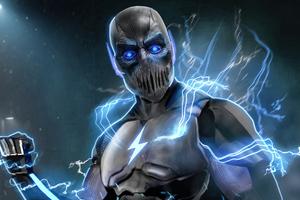 Black Zoom Flash Injustice 5k Wallpaper