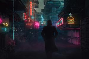 Blade Runner 2049 Cyberpunk Alley 4k