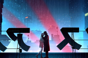 Blade Runner 2049 Love Story 4k Wallpaper