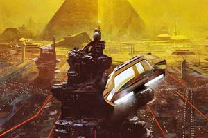 Blade Runner 2049 Movie Artwork Wallpaper