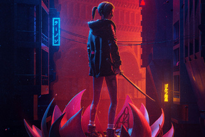 Blade Runner Black Lotus Wallpaper