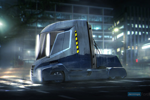 Blade Runner Truck Wallpaper