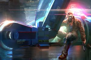 Bladerunner Fan Art 4k
