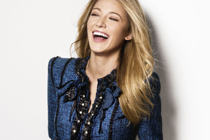 Blake Lively Cute Smile 2018