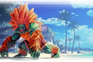 Blanka Street Fighter V 8k Wallpaper