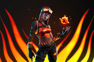 Blaze Fortnite Wallpaper