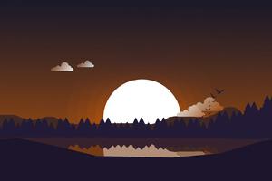 Blissfull Sunset 4k Wallpaper