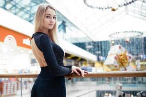 Blonde Gorgeous Model