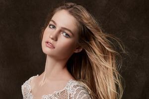Blonde Hair Girl Model 4k