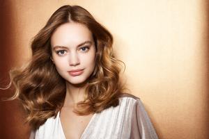 Blonde Hair Model Photoshoot