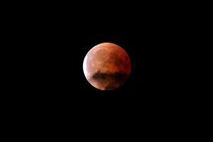 Blood Moon During Night Time 5k Wallpaper