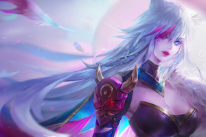 Blood Moon Xayah League Of Legends Wallpaper