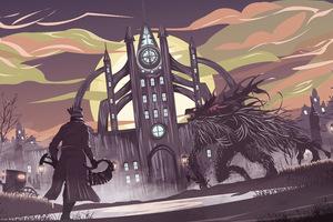 Bloodborne Game Artwork 8k Wallpaper