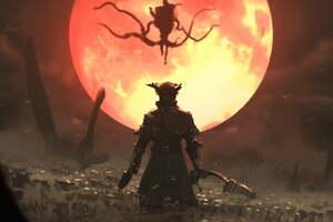 Bloodborne Game Artwork Wallpaper