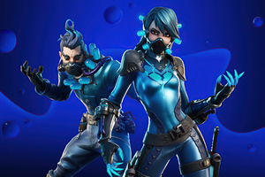 Blue Crew Set Fortnite Wallpaper