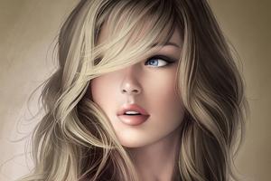 Blue Eye Blonde Wallpaper