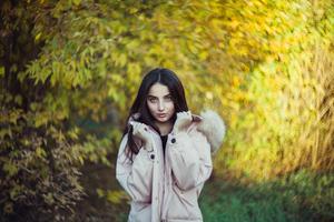 Blue Eyes Girl Winter Clothing 4k