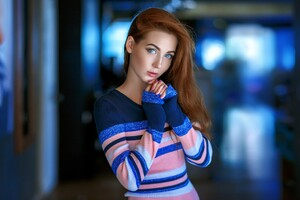Blue Eyes Model