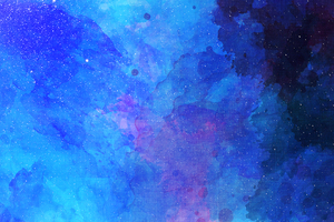 Blue Faded Colors Abstract 4k