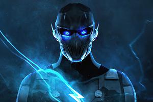 Blue Flash 4k