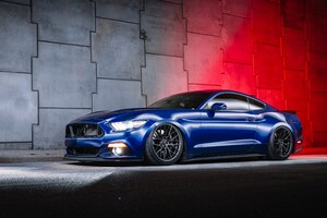 Blue Ford Mustang 5k Wallpaper