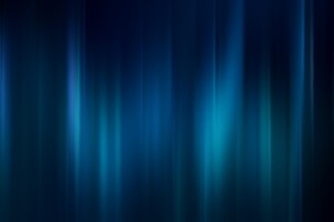 Blue Gradient Shapes Digital Art