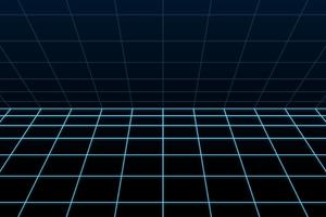 Blue Grid 5k Wallpaper