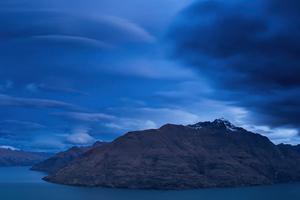 Blue Hour New Zealand Mountains 4k