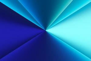 Blue Light Formation 4k Wallpaper