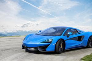 Blue Mclaren 4k New
