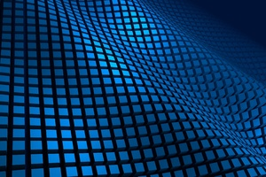 Blue Pattern 3d Wallpaper