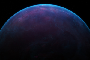 Blue Planet Space 4k Wallpaper