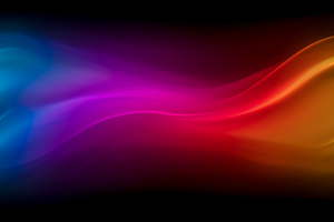Blue Purple Red Yellow Waves 4k Wallpaper