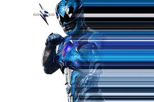 Blue Ranger Power Rangers 2017