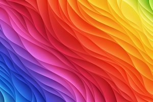 Blue Red Yellow Abstract 5k Wallpaper