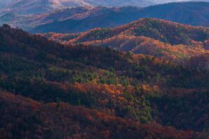 Blue Ridge Mountains In North Carolina 8k Wallpaper