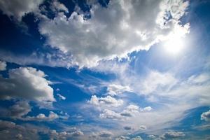 Blue Sky Summer Wallpaper