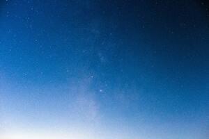 Blue Sky With Stars 5k