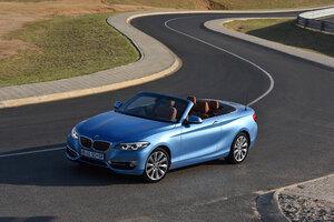 BMW 220i Cabrio Luxury Line 2017 4k
