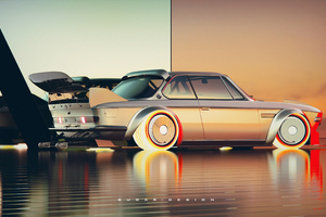 Bmw 3 Csl 4k Wallpaper