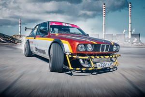 BMW 3 Series E30 Drifting 5k