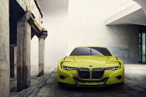 Bmw 30 Csl Hommage Concept Car Wallpaper