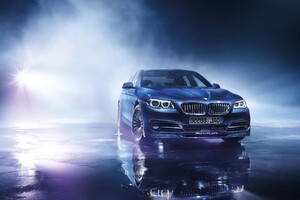 BMW B5 BI Turbo Edition Wallpaper