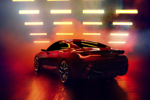 BMW Concept 4 2019 5k Rear Wallpaper