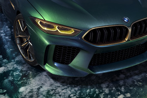 Bmw Concept M8 Gran Coupe Headlights
