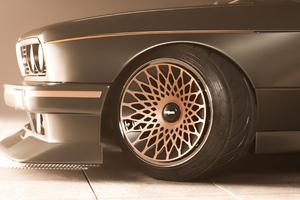 Bmw E30 Fat Wheels 4k Wallpaper